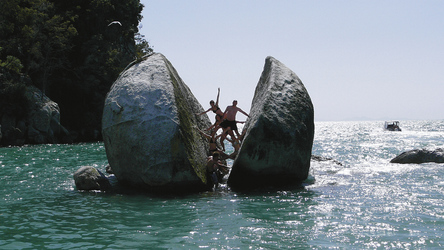 Split Apple Rock im Abel Tasman Nationalpark