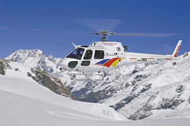Mit dem Helikopter auf den Mount Cook