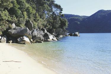 Strand im Abel Tasman Nationalpark, ©Australia Plus