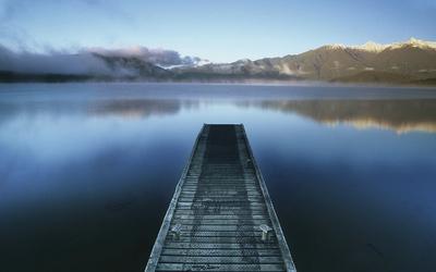Lake Hauroko Jetty, Southland