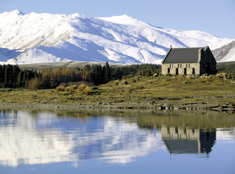 The Church of the Good Shepherd in Lake Tekapo