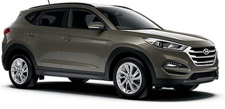 SUV: Hyundai Tucson (2WD)