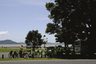 Picknick an der Kawakawa Bay