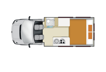 Euro Tourer: Nacht-Layout (Mercedes/VW)