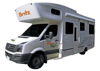 Britz Frontier Motorhome