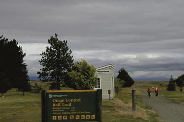 Eine der schönsten Radstrecken Neuseelands