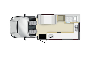 Apollo Euro Camper: Tag-Layout