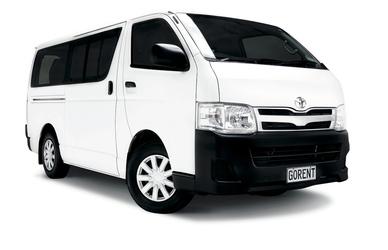 Van (11-Sitzer): Toyota Hiace o.ä.