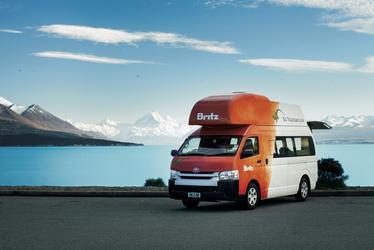 Britz Voyager Campervan, ©LUKE AUSTIN