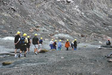 Auf Entdeckung des aktiven Vulkans, White Island
