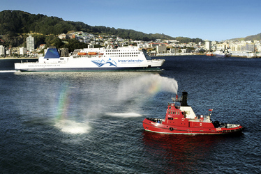 Ankunft in Wellington