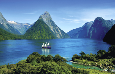 Milford Sound, ©Real Journeys