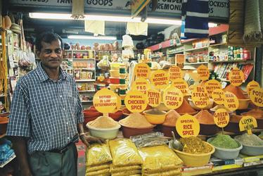 Auf dem indischen Markt
