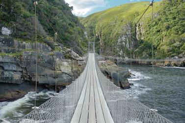 Brücke über den Storms River