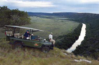 Bushmans Fluss bei Amakhala