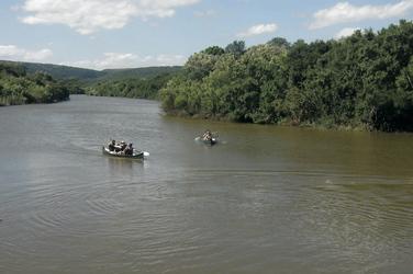 Kanufahrt auf dem Bushman River