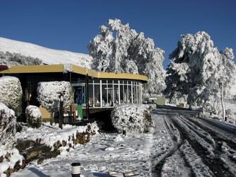 Wintereinbruch in den Drakensbergen