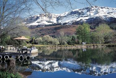 Winterwelt in den Drakensbergen