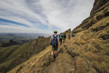 Wandern in den Drakensbergen, ©Bruce Taylor