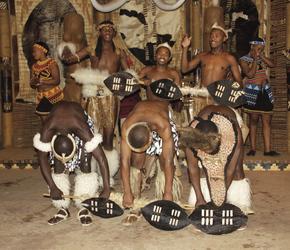 Zulu-Tänzer im Shakaland