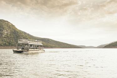 Bootsfahrt auf dem Jozini Damm