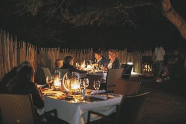 Abends in der Boma
