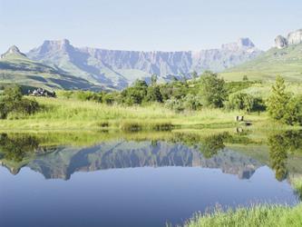 Das Amphitheater der Drakensberge