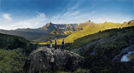 Die majestätischen Drakensbergen