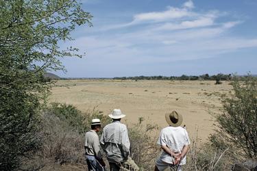 Blick nach Zimbabwe
