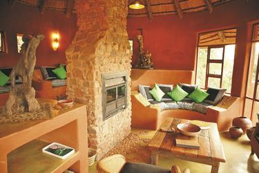 Geräumige Lounge