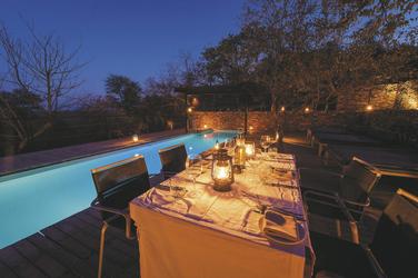 Dinner auf der Terrasse, ©Dana Allen