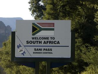 Willkommen in Südafrika
