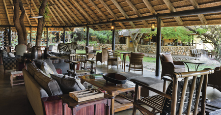 Gemütliche Lounge, ©Motswari+Newmark hotels
