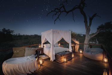 Eine Nacht im Baumhaus