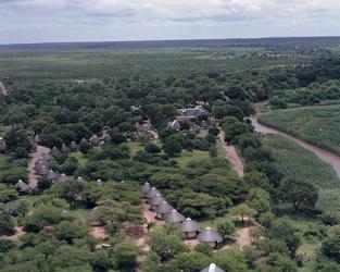 Das Letaba Camp liegt direkt am Fluss