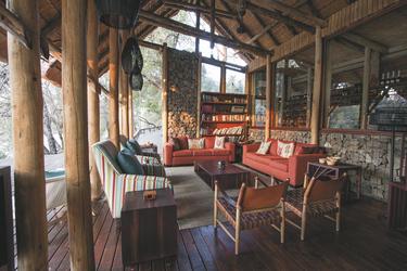 Gemütliche Lounge