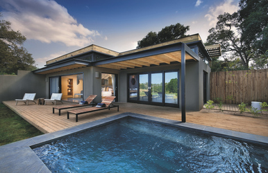 Suite mit Plunge Pool