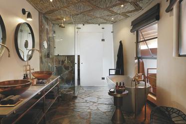 Mala Mala Camp - Badezimmer