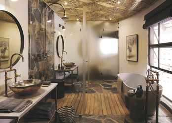 Sable Camp Suite Badezimmer