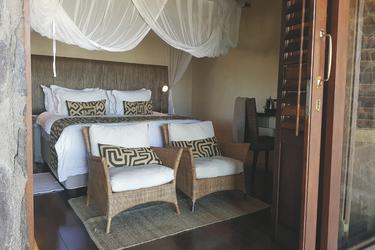 Ebenerdige Suite mit Veranda im Haupthaus