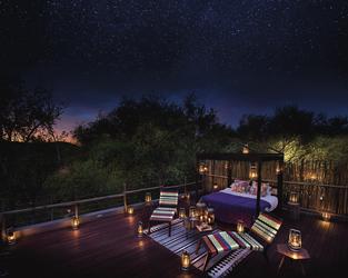 Starbed Suite, unterm Sternenhimmel