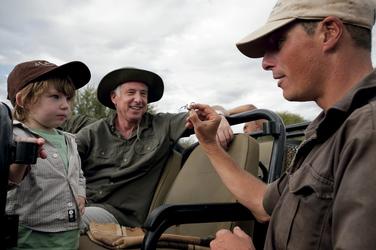 Mit Kindern auf Safari