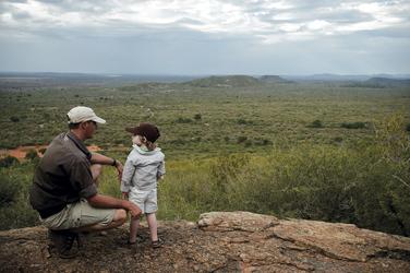 Herrlicher Ausblick im Madikwe Game Reserve
