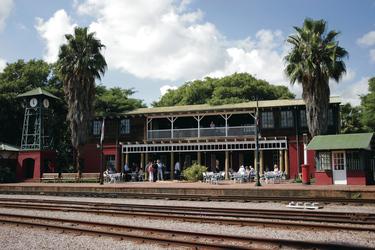 Historischer Bahnhof in Pretoria