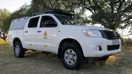 HilS: 4x4 Toyota Hilux