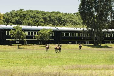 Mit dem Rovos Rail unterwegs, © Clunies-Ross