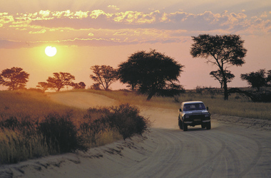 Fahrspaß in Namibia