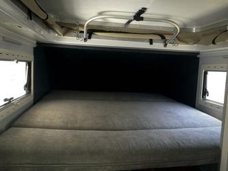 Umgebaut zum großen Doppelbett
