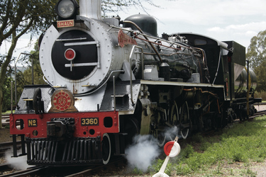 Dampflok des Rovos Rails