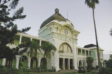 Der koloniale Bahnhof von Maputo